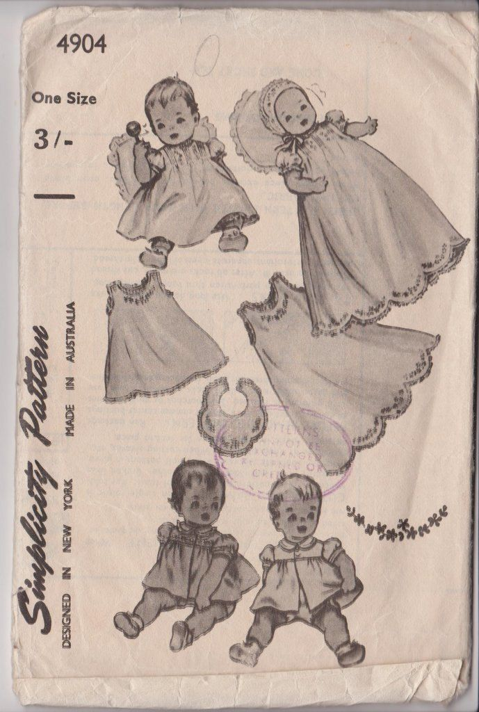 62 best Vintage Sewing Patterns images on Pinterest | Vintage sewing ...