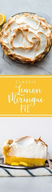 Classic Lemon Meringue Pie - My Kitchen Recipes
