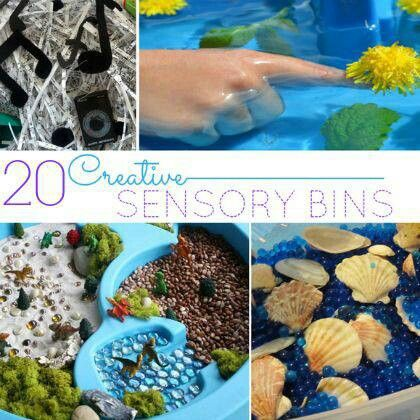 15 Creative Sensory Bins