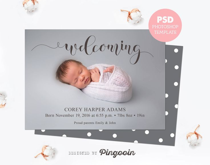 best 25 birth announcement template ideas on pinterest pregnancy announcement template baby. Black Bedroom Furniture Sets. Home Design Ideas