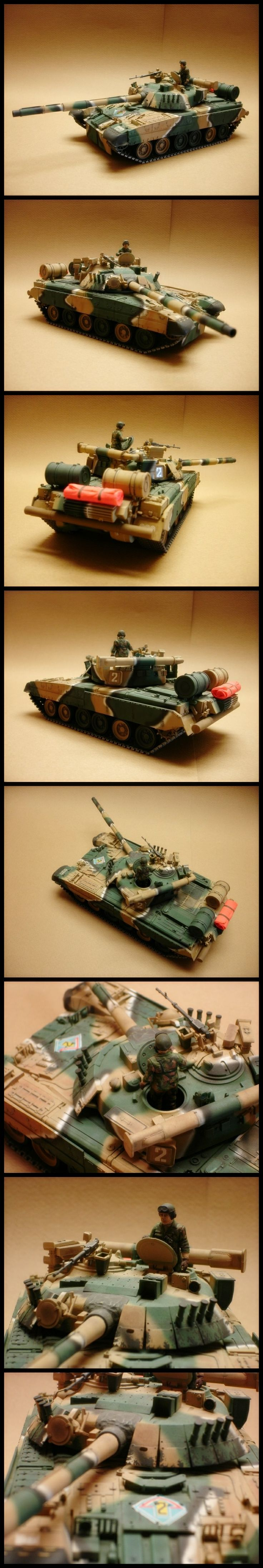 1/35 T-80U | The Plastic Figure World Amazing collection!