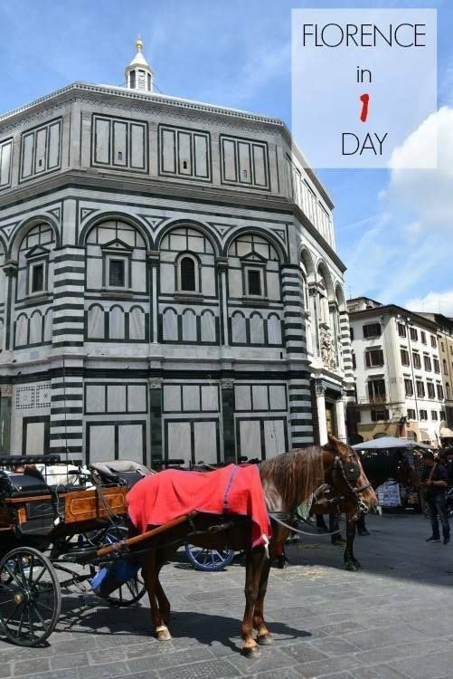 One day in Florence.