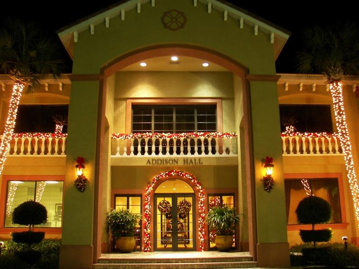 Southeastern University, Lakeland, Florida Holiday Decorations, Addison Hall Part 51
