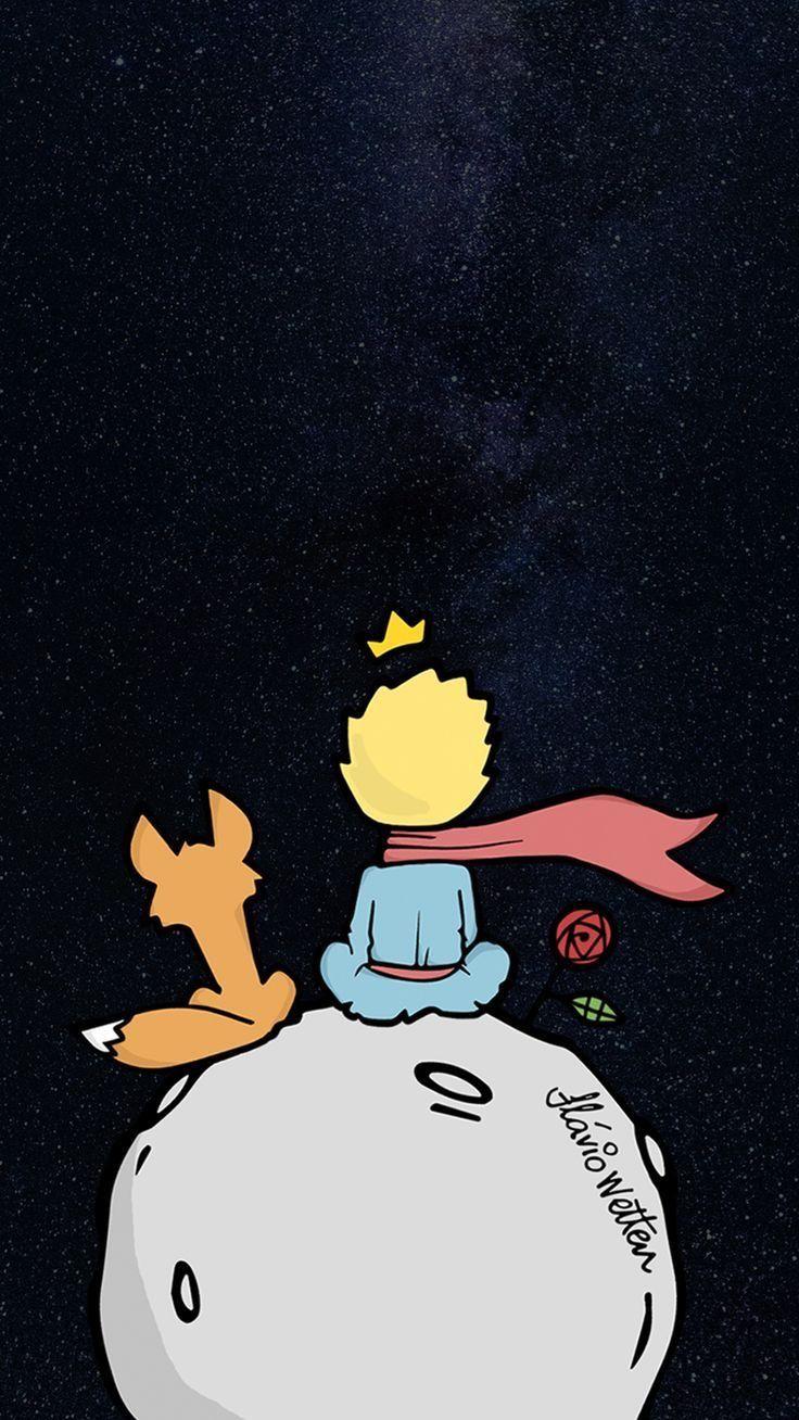 Bff Prince Kucukprens Galaxy Wallpaper Disney Cizimleri Kitap Duvar Kagidi