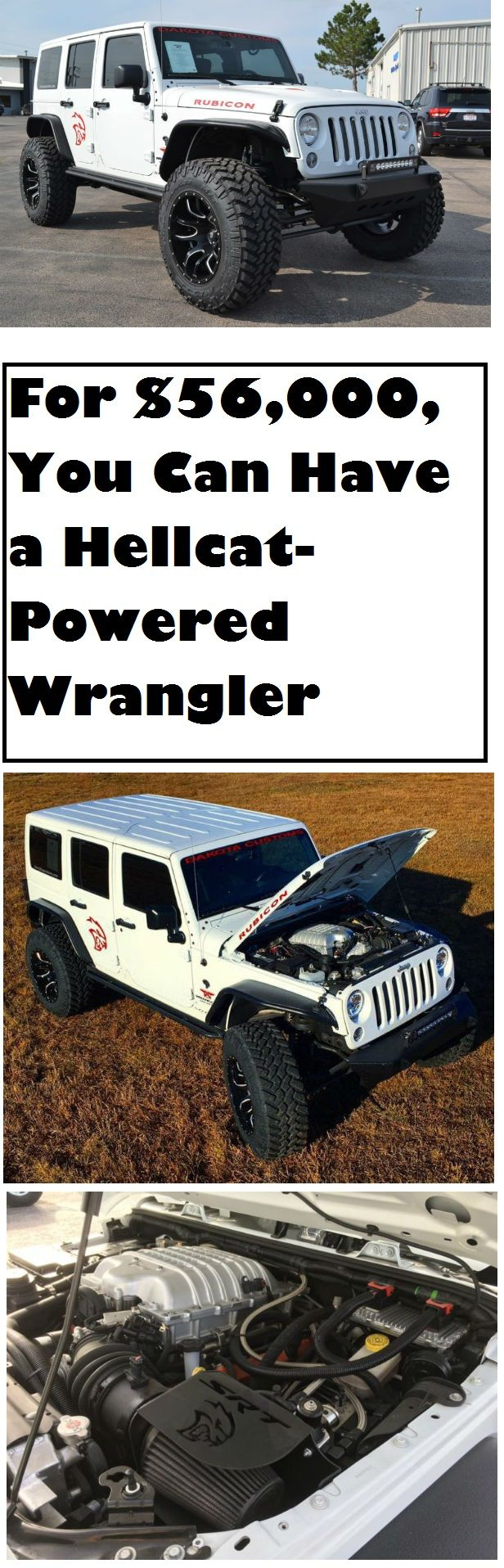 If you've ever had the opportunity to drive both a Hellcat (Charger or Challenger) and Jeep Wrangler, you can certainly appreciate each vehicle's individual capability. The Hellcat and its pavement-scorching707 horsepower is scary fun and always good for a few smiles and close calls. It's also common knowledge thatthe Jeep Wrangler is arguably the …