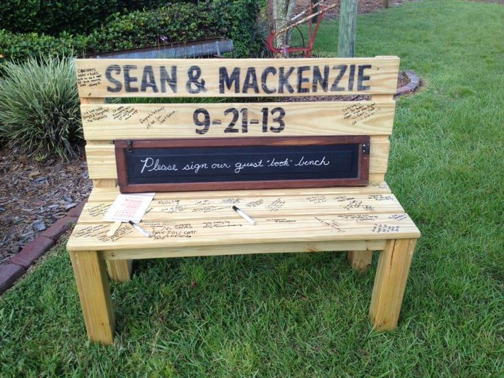SUCH a cute idea! Instead of traditional guest book. Never seen this idea before!!