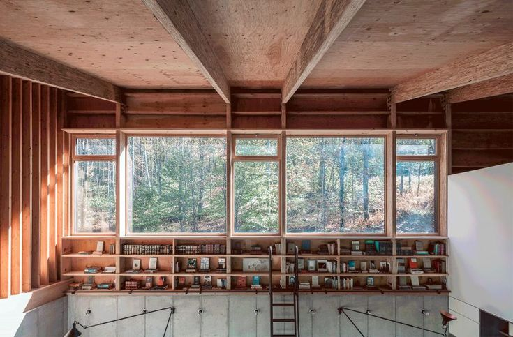 Camp O Is An Architect S Retreat In Upstate New York House In The Woods House Architect