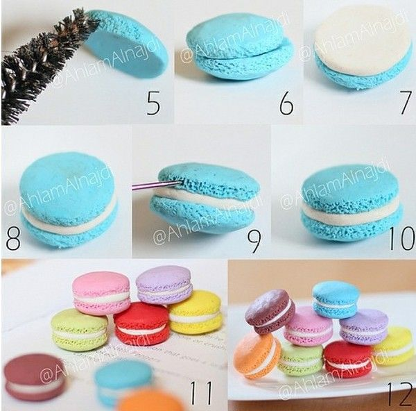Best 25 clay food ideas on pinterest minature things miniture clay macaroon omg so cute solutioingenieria Gallery