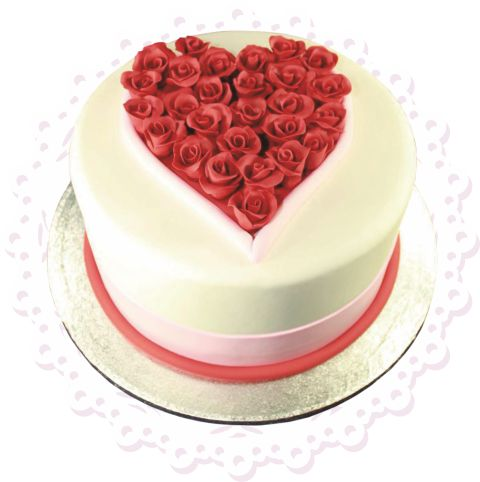 """""""Сердечко"""" (№105) #торт_на_заказ_харьков #влюбленные #бисквитный_торт #шоколадный_торт #комбинированный_торт"""