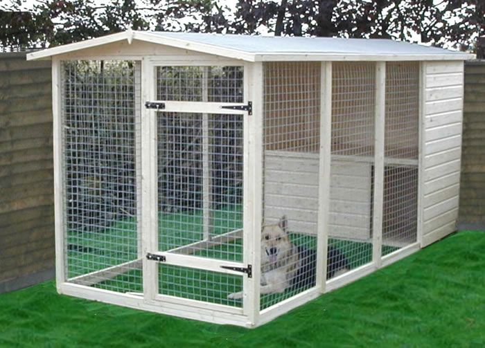 Follow these guidelines for building an outdoor dog kennel, including expert advice on kennel size, fencing materials, flooring, the dog house and other topics. Description from pinterest.com. I searched for this on bing.com/images