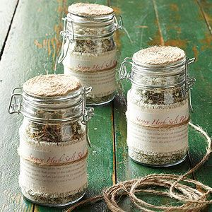 Savory Herb Salt Rub From Better Homes and Gardens, ideas and improvement projects for your home and garden plus recipes and entertaining ideas.