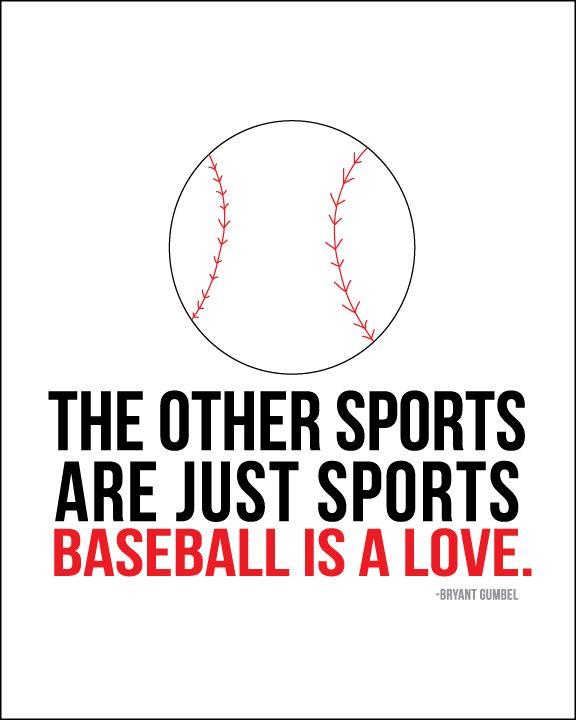 Baseball is love - www.thirtyhandmadedays.com