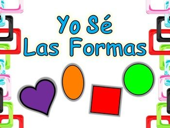I use this product to help students practice their Spanish shapes, colors, and oral sentence formation.The student(s) should first be introduced to the sentence stem.  One good strategy is to have them hear the instructor use it, then practice it as a group.