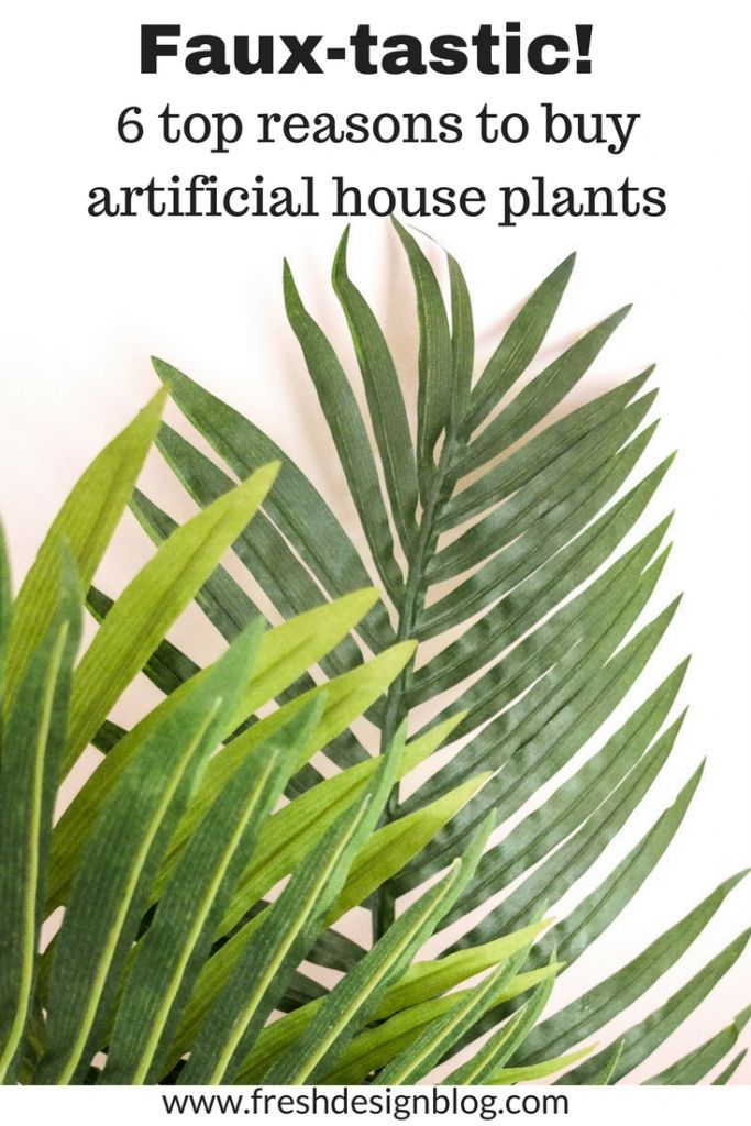 how to make your home bloom with artificial plants