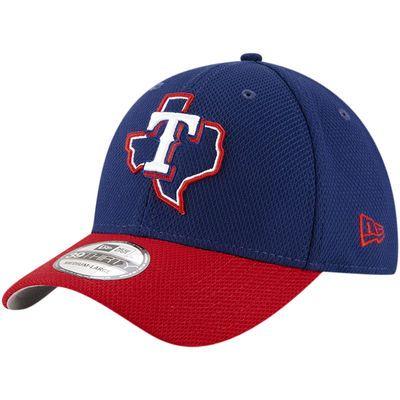 Texas Rangers New Era 2017 Diamond Era 39THIRTY Flex Hat - Navy/Red