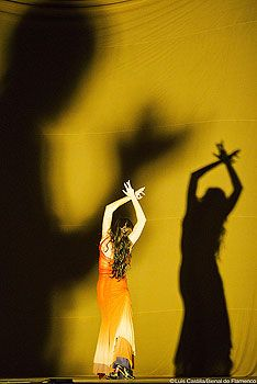 Maria Pages (b. Sevilla, Spain 1963) in 'Dunas' - a leading innovator in the development of modern flamenco.