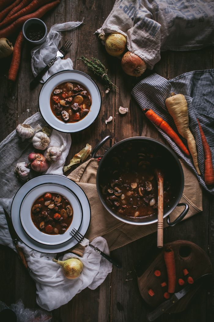 Boeuf Bourguignon + A Falk Copper Giveaway by Eva Kosmas Flores | Adventures in Cooking