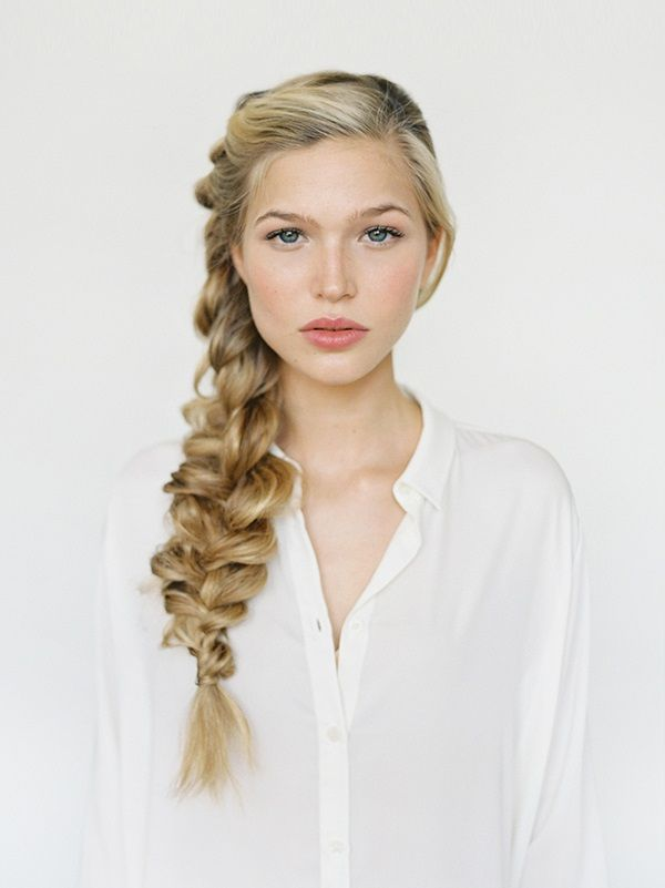 exPress-o: Valentine's Day Hair: Romantic Side Braid