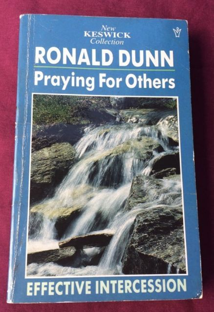 Vintage 1989 Praying For Others Ronald Dunn Paperback Book Christian Religion | eBay