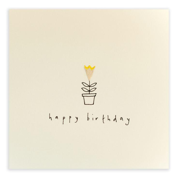 Say Happy Birthday with a pretty pot plant by ruth jackson