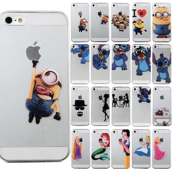 Cute Cartoon pattern PC hard back Case Cover Skin For iPhone 4 4S 5 5S 6 6 plus #UnbrandedGeneric