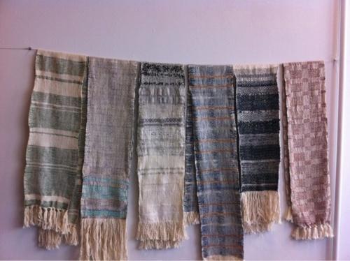 woven scarves from Jazzmyn Hollis