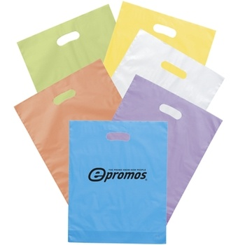 Slip handouts or promo items in these frosted #custom bags. #epromos