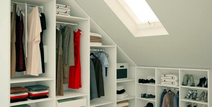Image result for cabine armadio per mansarda