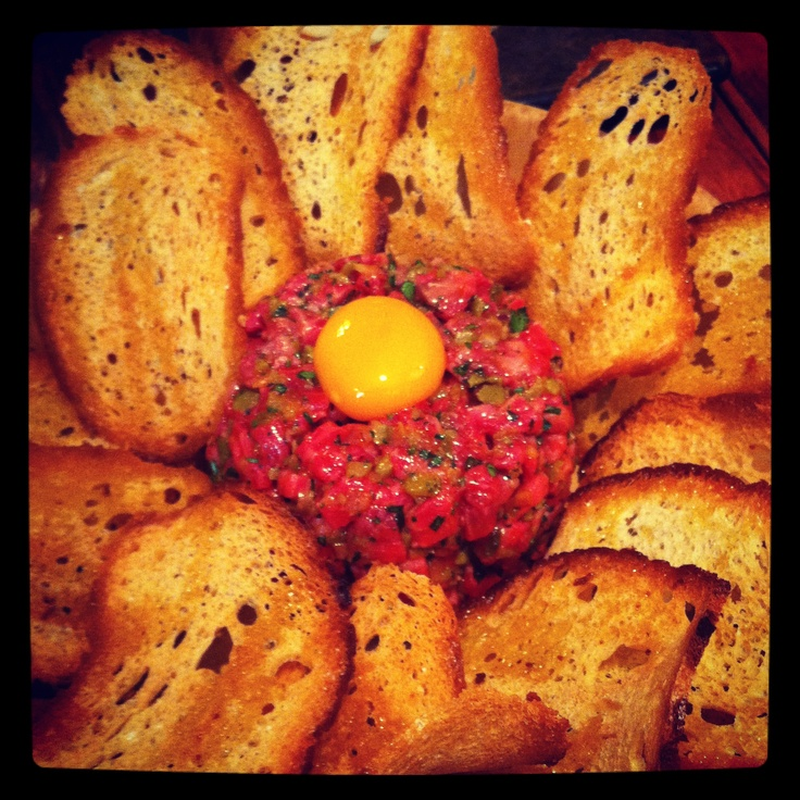 Get a real taste of Melbourne with a Steak tartare at Movida, in Melbourne's CBD.