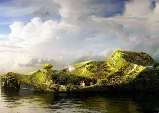 Floating garden Island Spa amsterdam