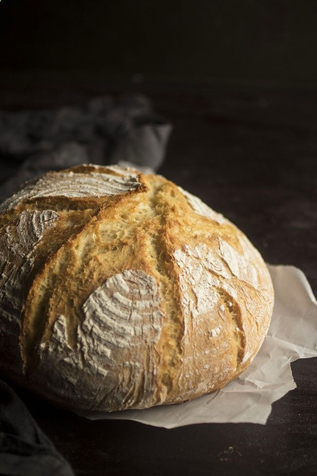 Easy Crusty French Bread - This easy homemade bread recipe ...