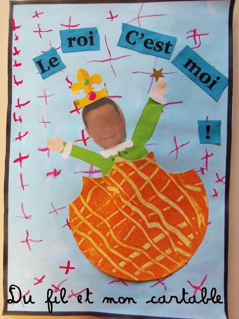 Du fil et mon cartable : Rois, Reines et ... Galette !