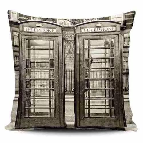 Cojin Decorativo Tayrona Store London 26 Vintage - $ 43.900