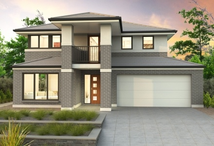 Clarendon Home Designs: Sherwood 35 - Facade Option 2. Visit www.localbuilders.com.au/builders_nsw.htm to find your ideal home design in New South Wales