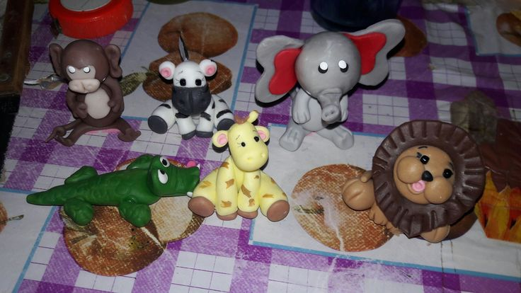 Animalitos de porcelana fria