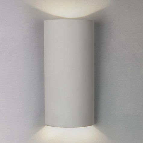 Buy John Lewis Picton LED Cone Wall Light White Online At Johnlewis