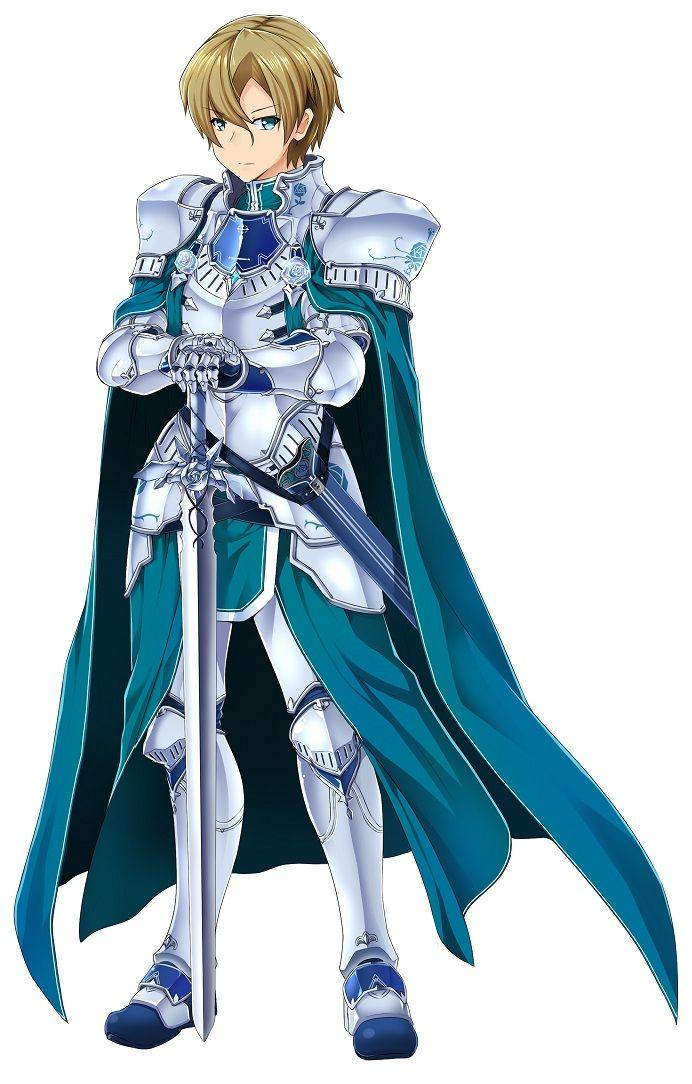 Sword art online Eugeo Sword art, Sword art online