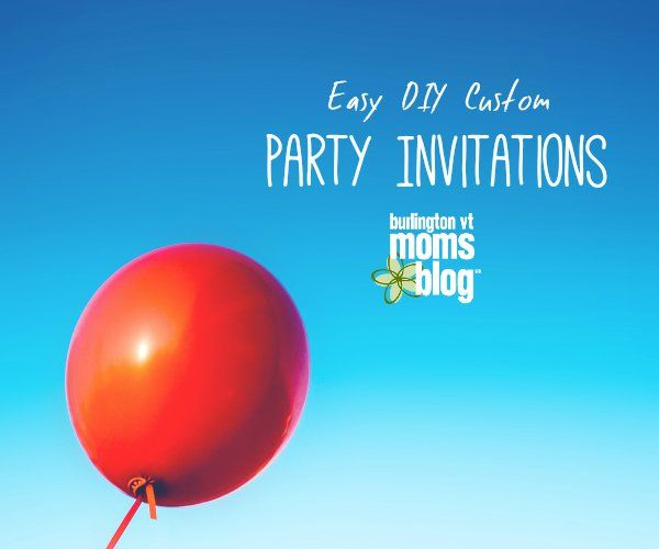 Custom DIY Birthday Party Invitations for Pennies