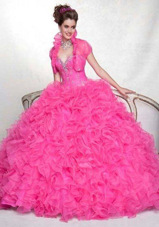 8 best Vestidos de 15 images on Pinterest   Princess fancy dress ...