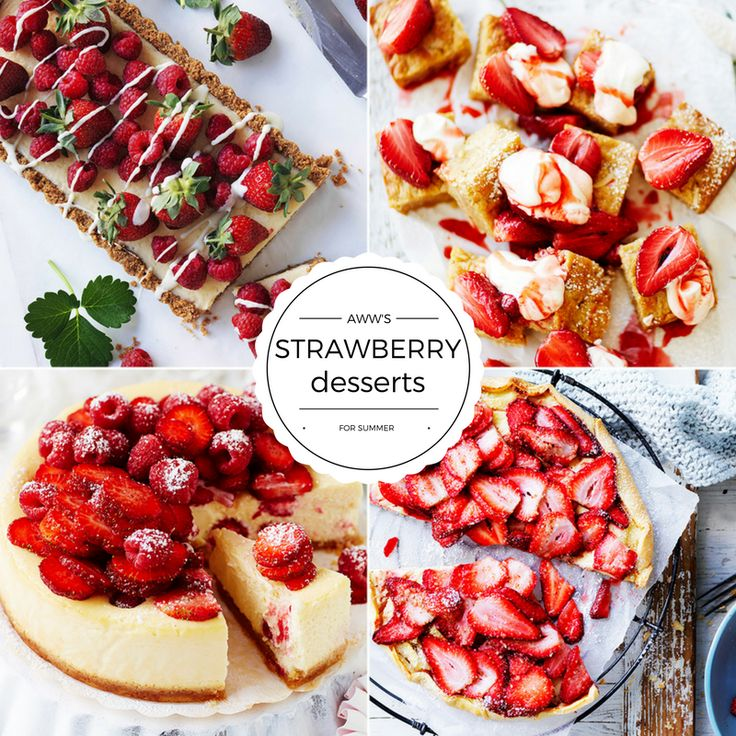 We have all turned to the Weekly when we've needed to impress, and these delicious desserts should be the ones to try next! From baked cheesecakes and gorgeous layer cakes, to old-fashioned strawberry shortcake recipes and easy desserts in a glass, these sweet stunners are the perfect way to celebrate strawberries at their in-season best.