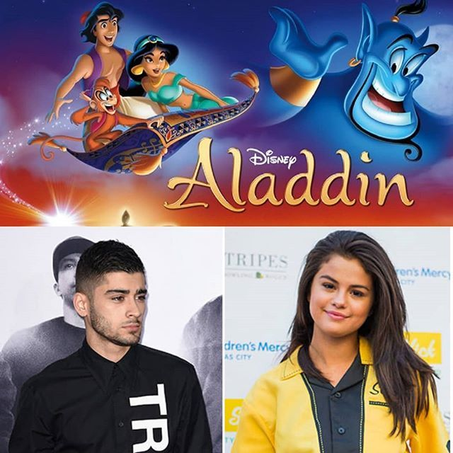 """RUMOR: According to People Selena Gomez and Zayn Malik have a song together called """"A Whole New World"""" from Aladdin movie soundtrack the film will have her premiere in 2019.  RUMOR: Deacuerdo a People Selena Gomez y Zayn Malik tienen una canción juntos llamada """"A Whole New World"""" del soundtrack de la película de Aladdin la película tendrá su estreno en 2019.  #SelenaGomez #Selena #Selenator #Selenators #Fans #Zayn #ZaynMalik #Aladdin"""