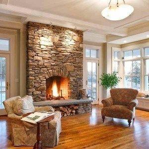 50 sensational stone fireplaces to warm your senses brick fireplace