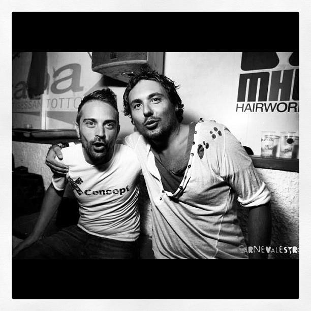 tony barbato DJ and giacomo  xconcept