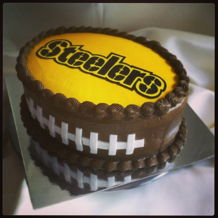 Happy Birthday Steelers Cake