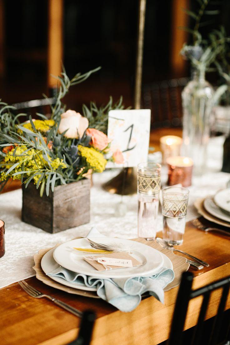 Wedding Reception | Tabletop | Centerpieces | Southwestern | Boho Bride