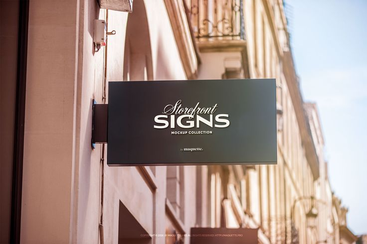 """Check out this @Behance project: """"Street Storefront Sign PSD Mock up"""" https://www.behance.net/gallery/52328815/Street-Storefront-Sign-PSD-Mock-up"""
