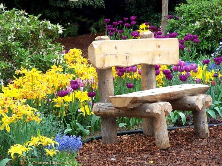 Die Besten 25 Ideen Zu Benches Auf Pinterest | Außenbänke ... Haus Und Garten Innovationen Garten Sehenswert