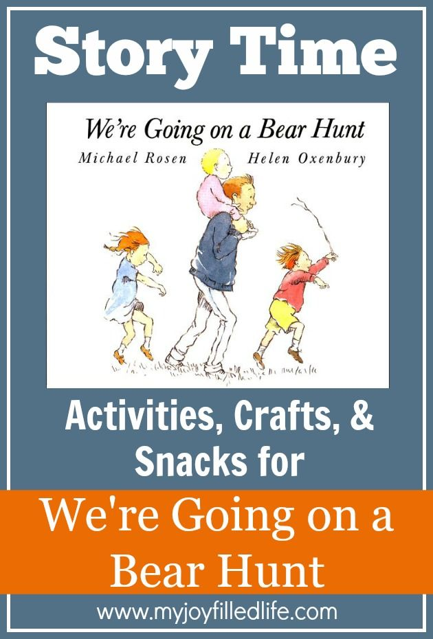 We're Going on a Bear Hunt – Story Time Activities