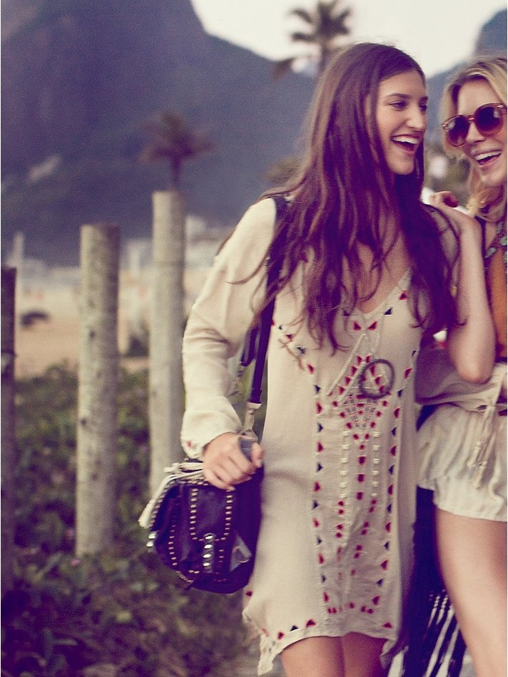 Free people carioca landscapes tunic at free people for People s choice 65