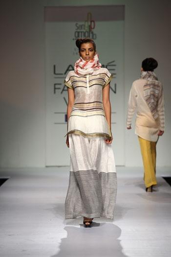 Amalraj SenGupta Collection at Lakme Fashion Week 2013 on Day 1
